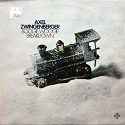 винил LP AXEL ZWINGENBERGER ''Boogie Woogie Breakdown'' (1978 German press, 6.23657 AS, ex/ex)