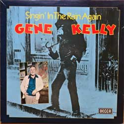винил LP GENE KELLY with the PETE MOORE ORCHESTRA ''Singin' In The Rain Again'' (1977 UK press, laminated, SKL 5265, vg+/ex-)