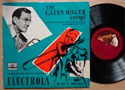 винил LP GLENN MILLER AND HIS ORCHESTRA ''The Glenn Miller Story'' (10-track 10'') (1956 German press, WDLP 1024, vg/vg+)