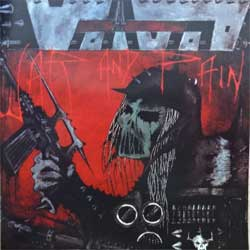VOIVOD ''War And Pain/Rrroooaaarrr'' (1984/1986 RI 199? Russian RARE press, KN26, mint/mint) (CD)
