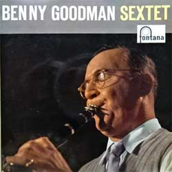 винил LP BENNY GOODMAN SEXTET ''Benny Goodman Sextet'' (8-track 10'') (1958 Holland press, laminated, 662 003 TR, vg+/ex-)