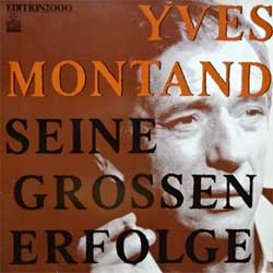 винил LP YVES MONTAND ''Seine Grosse Erfolge'' (German press, 204 238, ex/ex)
