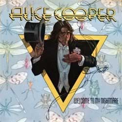 ALICE COOPER ''Welcome To My Nightmare'' (1975 RI 1982 Canada press, CD 19157, matrix 3 19157-2 SRC-02, vg+/ex+) (CD)