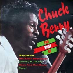 CHUCK BERRY ''The Best Of Chuck Berry'' (1991 Israel press, WSC 99037, matrix 99037, ex+/ex-) (CD)