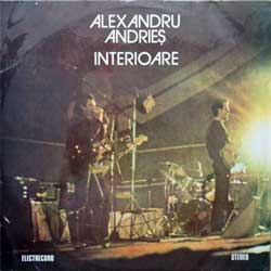 винил LP ALEXANDRU ANDRIES ''Interiorare'' (1984 Romanian press, black labels, laminated, ST-EDE-2687, ex-/ex-)