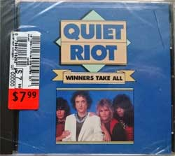 QUIET RIOT ''Winners Take All'' (1990 USA press, A 21626, mint/mint, still sealed) (CD)
