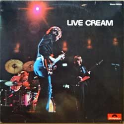 "винил LP CREAM ""Live Cream"" (1970 German press, laminated, insert, ex-/vg+)"