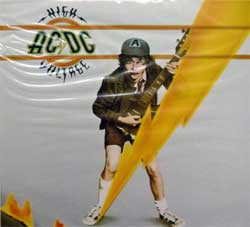 AC/DC ''High Voltage'' (1976 RI 2014 Russian press, 88875019152, new, sealed) (digipak) (CD)