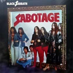 винил LP BLACK SABBATH ''Sabotage'' (1975 RI 2015 UK press, BMGRM058LP, new, sealed)