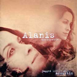 ALANIS MORISSETTE ''Jagged Little Pill Acoustic'' (2005 RI 2008 Russian press, golden CD, 4607173156990, ex+/mint) (CD)