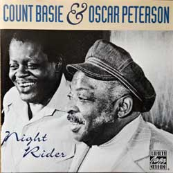 COUNT BASIE & OSCAR PETERSON ''Night Rider'' (1980 RI 1992 German press, OJCCD 688-2, matrix ZYX MASTERING OJCCD 688-2, near mint/mint) (CD) (D)