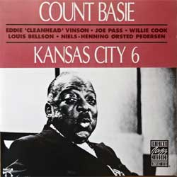 COUNT BASIE ''Kansas City 6'' (1982 RI 1990 German press, OJCCD 449-2, matrix ZYX MASTERING OJCCD 449-2, near mint/mint) (CD)