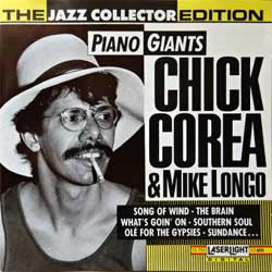 CHICK COREA & MIKE LONGO ''Piano Giants (The Jazz Collector Edition Serie)'' (1991 USA press for German market, 15 751, matrix 15751-JVC-1 1S21, mint/mint) (CD) (D)