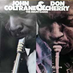 JOHN COLTRANE & DON CHERRY ''The Avant-Garde'' (1966 RI 1982 German RARE press, 7567-90041-2, matrix 756790041-2 WME 42 & Warner logo, vg+/ex) (CD)