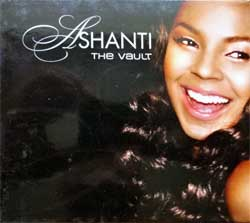 ASHANTI ''The Vault'' (2009 Russian press, laminated O-card, 2 bonus-tracks, TP-719, vg+/mint/ex) (CD)