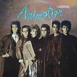 винил LP ANIMOTION ''I Engineer'' (3-track 12'') (1986 German press, 884 433-1 Q, ex/ex)