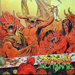 ABADDON INCARNATE ''The Last Supper'' (1999 France press, SOM 020, matrix Disctronics, mint/mint) (CD)
