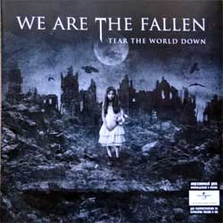 EVANESCENCE (WE ARE THE FALLEN) ''Tear The World Down'' (2010 Russian press, 4605026705340, vg+/mint) (CD)