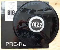 винил LP YAZZ ''Treat Me Good'' (12'') (1990 UK press, PROMO, S/Sided, Etched, limited edition, YAZZ PROMO 5, ex/sfc)