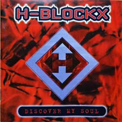 H-BLOCKX ''Discover My Soul'' (1996 German press, tour sticker on back, 74321 40291 2, vg/ex) (CD)