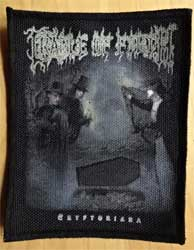 нашивка CRADLE OF FILTH ''Cryptoriana'' цв размер 9x11 см