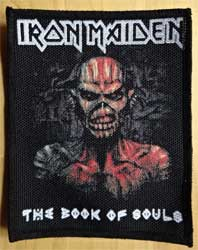 нашивка IRON MAIDEN ''The Book Of Souls'' цв размер 9x11 см