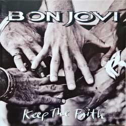 BON JOVI ''Keep The Faith'' (1992 German press, 514 197-2, ex-/ex+) (CD)
