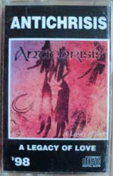 аудиокассета ANTICHRISIS'98 ''A Legacy Of Love'' (RARE Russian semi-official press, code 146A, ex) (MC452)