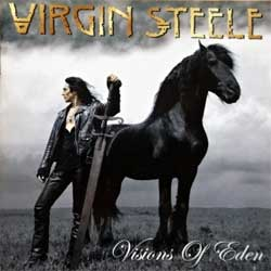 VIRGIN STEELE ''Visions Of Eden'' (2006 EU press, TT00652, matrix A661523-01 manufactured by optimal media production, mint/mint) (CD)