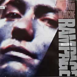 винил LP ENNIO MORRICONE ''Rampage OST'' (1988 German press, 208 609-630, ex/ex)