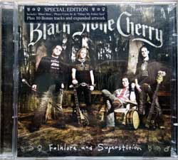 BLACK STONE CHERRY ''Folklore And Superstition'' (2xCD) (2008 EU press, special edition, 10 bonustracks, original sticker, RR 7940-7, matrixes 168617940-2 V01 PPF, 1686179407A/2 V01 RNQ, mint/mint) (CD)