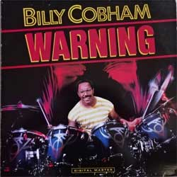 винил LP BILLY COBHAM ''Warning'' (1985 Finland RARE press, insert, GRP-A-1020, ex/vg+)