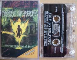 аудиокассета CRADLE OF FILTH ''Damnation And A Day'' (2003 Sony Music Russia Records press, ex) (MC593)