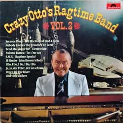 винил LP FRITZ SCHULZ-REICHEL (CRAZY OTTO'S RAGTIME BAND) ''Vol.2'' (1976 German press, laminated, 2371 633, vg+/vg+)