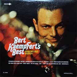 винил LP BERT KAEMPFERT ''Bert Kaempfert's Best Special Club Edition'' (1967 USA press, monaural, DL 34485, ex-/ex)