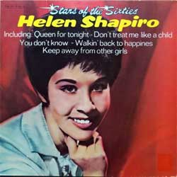 винил LP HELEN SHAPIRO ''Stars Of The Sixties'' (1975 German press, 038 CRY 05 786 M, ex/ex-)