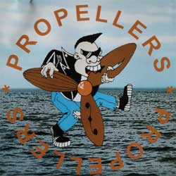 PROPELLERS ''Propellers'' (2003 Фенька R'n'R/Crazy Rat press) (CD)