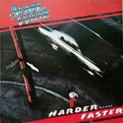 APRIL WINE ''Harder…..Faster'' (1979 RI USA press, CDP7460682, matrix DIDX-223521 2, near mint/near mint) (CD)