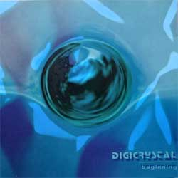 DIGICRYSTAL ''Beginning'' (2003 Russian RARE press, DK028CD03/01, vg+/mint) (CD)