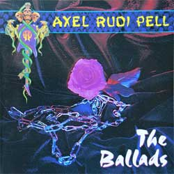 AXEL RUDI PELL ''Ballads'' (1993 German press, matrix Sonopress, SPV 084-76642, vg+/ex+) (CD)