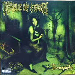 CRADLE OF FILTH ''Thornography'' (2006 Holland press, RR8113-2, near mint/near mint) (CD)