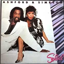винил LP ASHFORD & SIMPSON ''Solid'' (1984 UK press, insert, SASH 1/EJ 24 02501, ex/ex+)