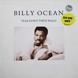 винил LP BILLY OCEAN ''Tear Down These Walls'' (1988 UK press, insert, HIP 57, ex+/ex+)