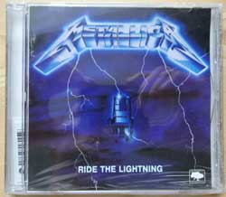 METALLICA ''Ride The Lightning'' (1984 RI 2001 Ukraine RARE press, 838 140-9, mint/mint, still sealed!!!) (CD)