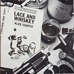 винил LP ALICE COOPER ''Lace And Whiskey'' (1977 USA press, 2 inserts, BSK 3027, ex+/ex+)