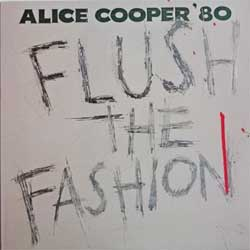 винил LP ALICE COOPER ''Flush The Fashion'' (1980 USA press, insert, BSK 3436, near mint/mint)