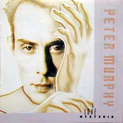 BAUHAUS (PETER MURPHY) ''Love Hysteria'' (1988 RI UK press, BBL 92 CD, matrix www.Lynic.com BBL92CD 95593 01, ex+/mint) (CD)