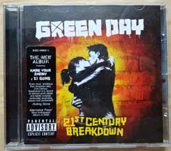 GREEN DAY ''21st Century Breakdown'' (2006 EU press, sticker, 9362-49802-1, ex+/ex+) (CD)