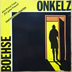 BOHSE ONKELZ ''Kneipenterroristen'' (1988 German 1st press, matrix Interpress, ME 519 CD, vg+/ex-) (CD)