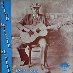 винил LP BLIND WILLIE McTELL ''1927-1935'' (1974 USA press, L-1037, ex/near mint)